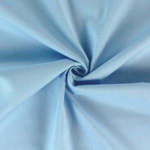 Коттон 100% голубой