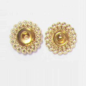 Кнопки декоративные art. B88-37 золото 32L
