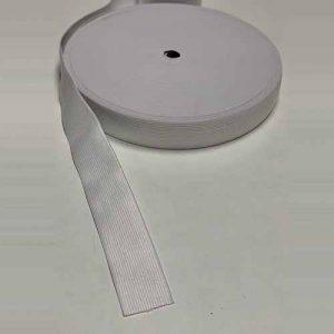 Резинка белая 4 см art. ЕL-40