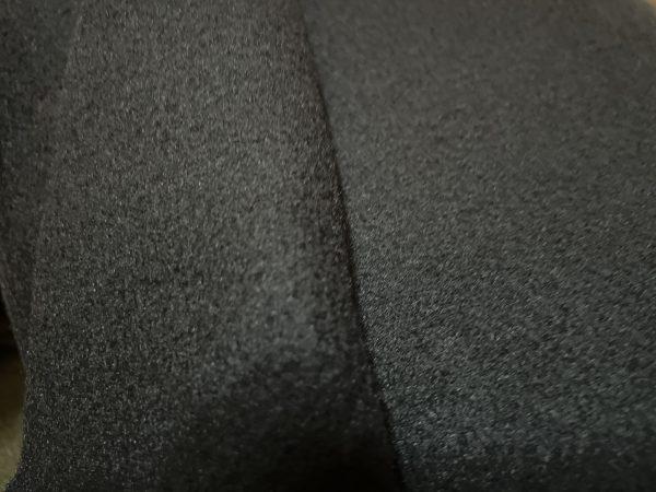 Флис пл. D № 6 черный арт.1560 шир.1.70